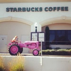 tractor starbucks